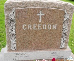 Thomas J Creedon