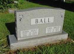 Sarah Mart <I>Bryan</I> Ball