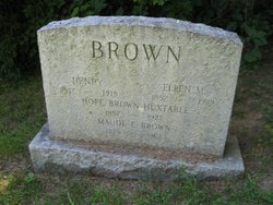 Maude E Brown