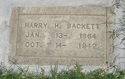 Harry H  Edward Sackett