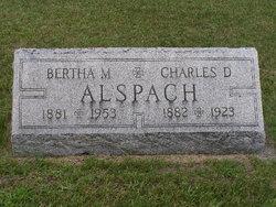 Bertha May <I>Bryant</I> Alspach