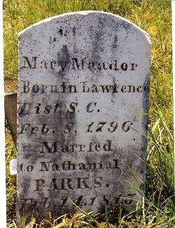 """Mary """"Polly"""" <I>Meador</I> Parks"""