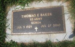 """Thomas E. """"Tom"""" Baker"""