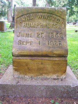 Anna <I>Winston</I> Humphreys