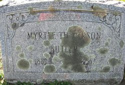 Myrtle Idella <I>Wyman</I> Butler
