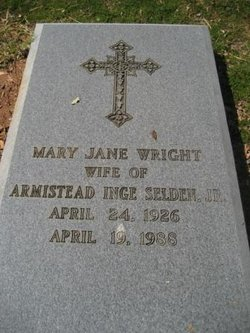 Mary Jane <I>Wright</I> Selden