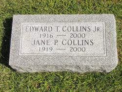 Jane Elizabeth <I>Pennock</I> Collins
