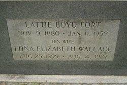 Edna Elizabeth <I>Wallace</I> Fort