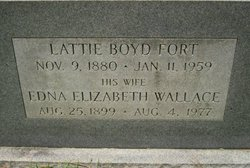Lattie Boyd Fort