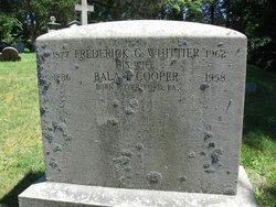 Bala I. <I>Cooper</I> Whittier