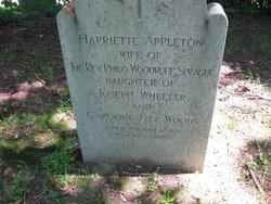 Harriette Appleton <I>Wheeler</I> Sprague