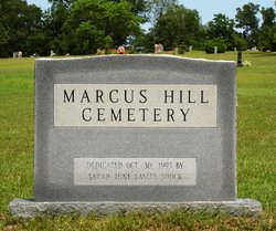 Marcus Hill Cemetery
