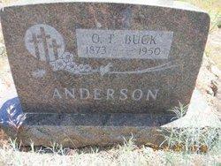 "Oscar Tildon ""Buck"" Anderson"