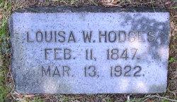 Louisa <I>Weston</I> Hodges