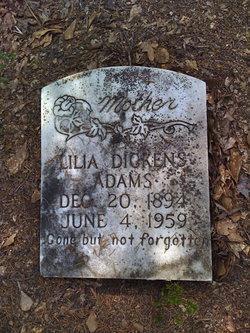 Lilia <I>Dickens</I> Adams