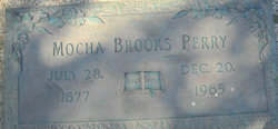Mocha <I>Brooks</I> Perry