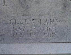 Clara <I>Lane</I> Baxley