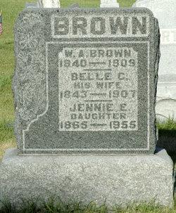"""Isabelle Cloyton """"Belle"""" <I>Steele</I> Brown"""