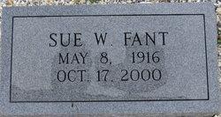 Sue Ruth <I>White</I> Fant