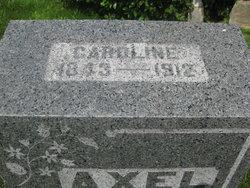 Caroline <I>Foster</I> Axel