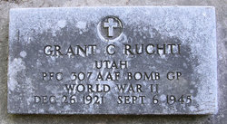 PFC Grant Charles Ruchti