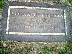 "Elizabeth ""Peachy"" <I>Brixey</I> Briggs"