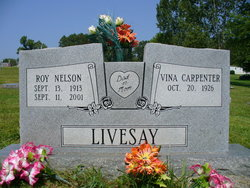 Vina Mae <I>Carpenter</I> Livesay