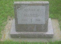 Justine H Neufeld