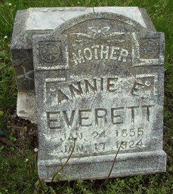Annie E. <I>Everett</I> Everett