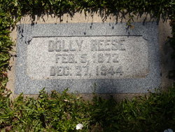 """Emilie Ann """"Dollie"""" Reese"""