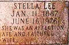 Stella Lee <I>Drennan</I> Connell