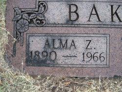 Alma Zene <I>Cruzon</I> Baker