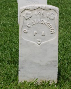 Pvt Orville S Ainsworth