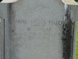 Annie Adella <I>Felder</I> Izlar