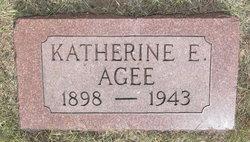 Katherine E Agee