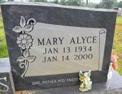 Mary Alyce <I>Ogg</I> Adams