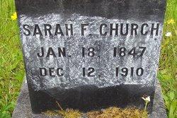 Sarah F Church