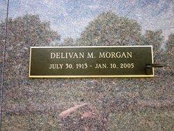 """Delivan Mercer """"Del"""" Morgan"""