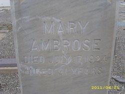 Mary Ambrose