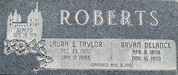 Laura Ethelyn <I>Taylor</I> Roberts