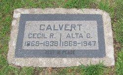 Alta C. <I>Rhodes</I> Calvert
