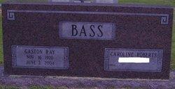 Gaston Ray Bass