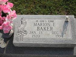 Marion E. Baker