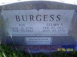 """Joseph """"Joe"""" Burgess"""