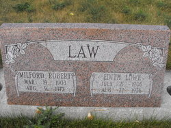 Edith <I>Lowe</I> Law