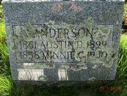 Minnie C <I>Burroughs</I> Anderson