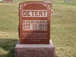 B Ferdinand Detert