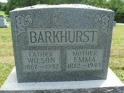 Emma <I>Hann</I> Barkhurst