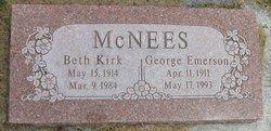 Beth <I>Kirk</I> McNees