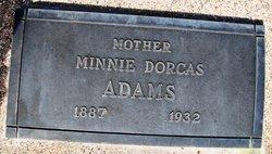 Minnie Dorcas <I>Hampton</I> Adams
